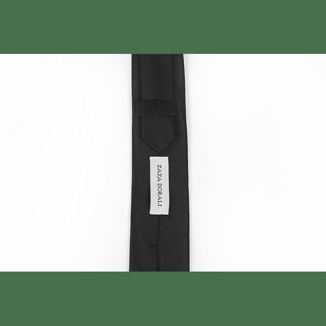 Corbata Negro espigas