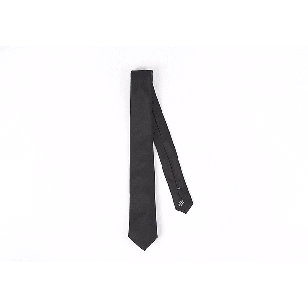 Corbata Negro liso