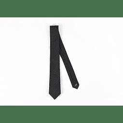 Corbata Negro puntos negros
