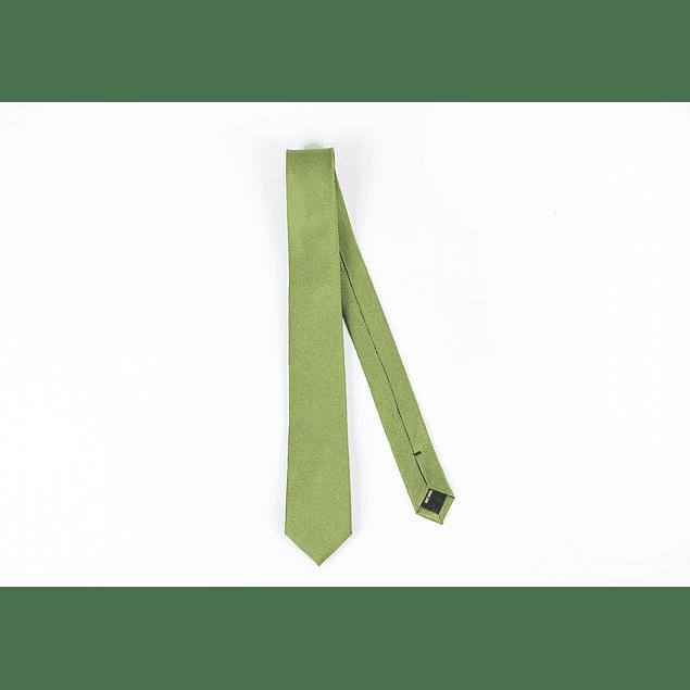 Corbata Verde lisa
