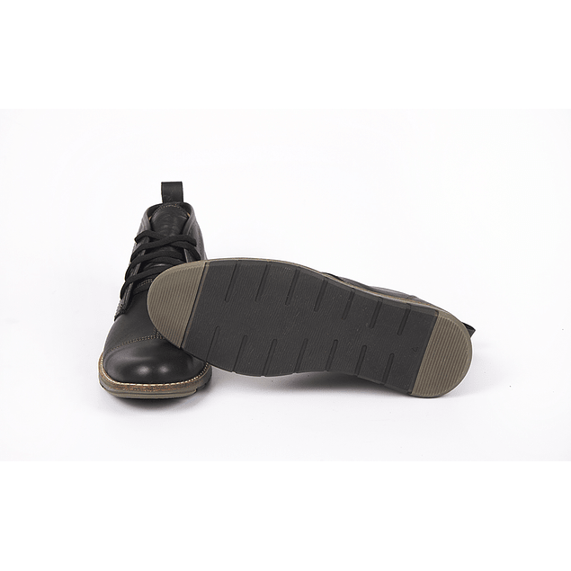 Zapatos Anubis Bota Negro