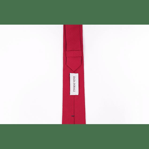 Corbata Rojo liso