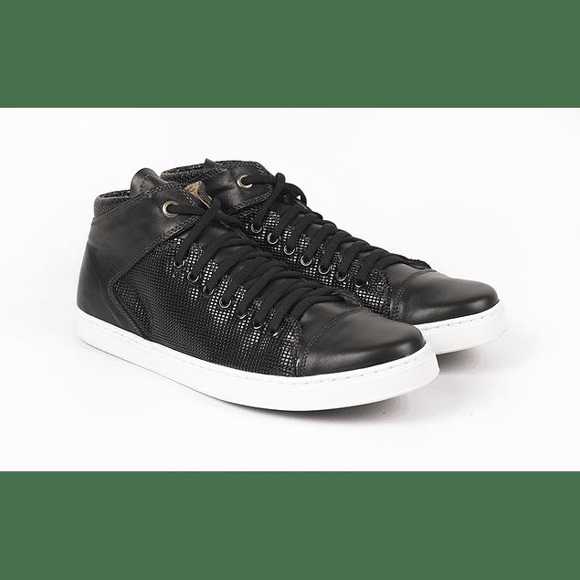 Zapatos Rubber Negro