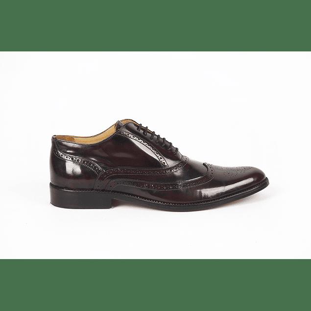 Zapatos Girona Claroscuro Bordó