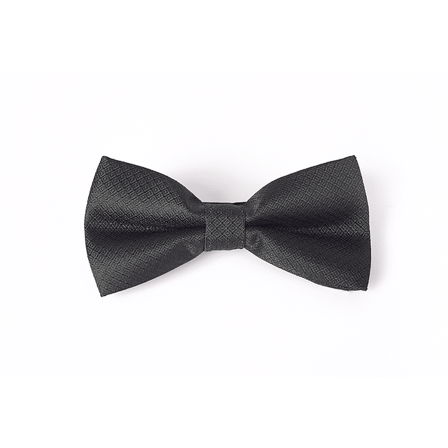 Corbatín Negro texturado