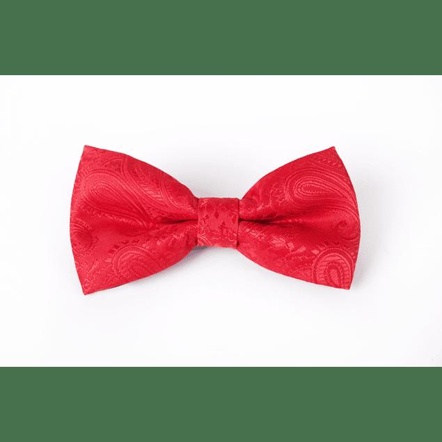 Corbatín Rojo calabazas