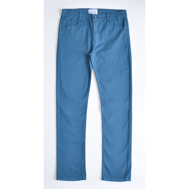 Pantalón Azul Petróleo