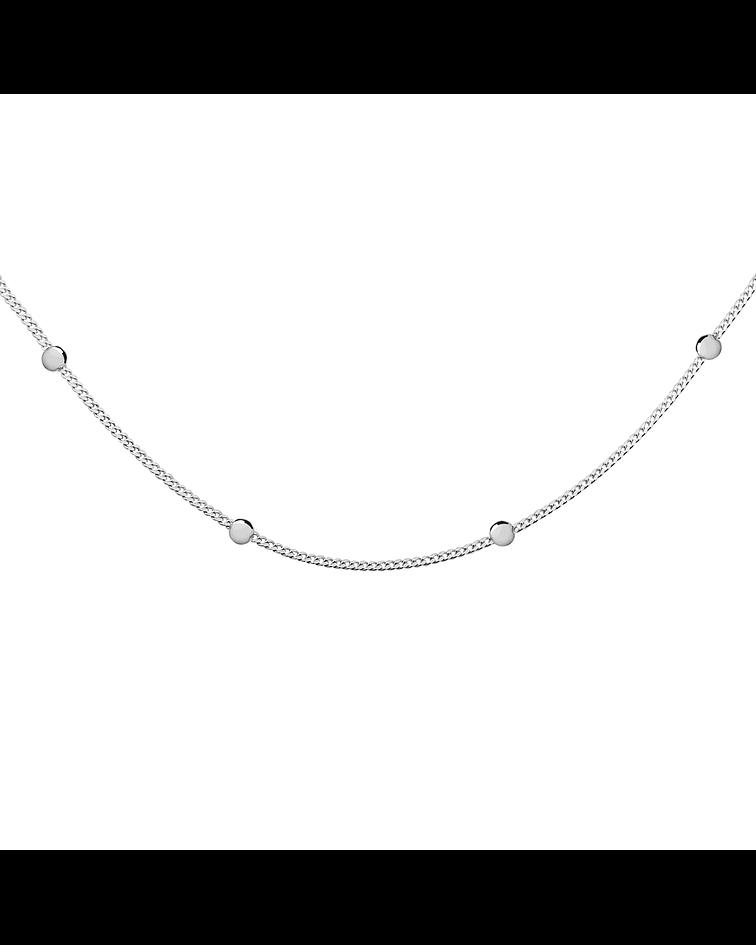 Collar Pelotitas -  Plata 925
