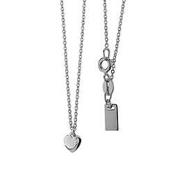 Collar Corazon - Plata 925 Zirconia