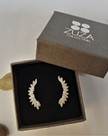 Trpadores Alitas - Plata 925 con Zirconia