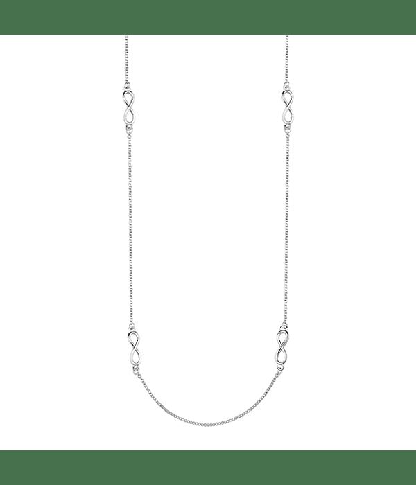 Collar Símbolos de Infinito- Plata 925