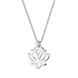 Collar Flor de Loto - Plata 925