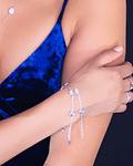 Pulsera Luise  - Plata 925 Zirconia Azul