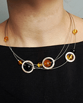 Collar Space Plata 925