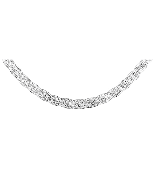 Collar Grueso Virginia - Plata 925