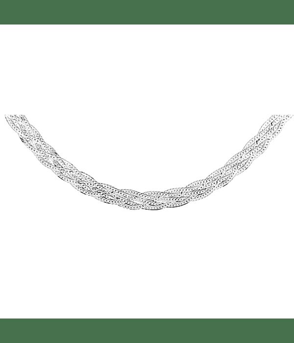 Collar Grueso Virginia - Plata 925