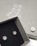 Collar Punto de Luz - Plata 925 con Zirconia