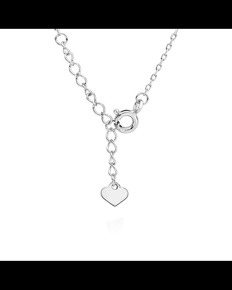 Collar Patita - Plata 925 con Zirconia