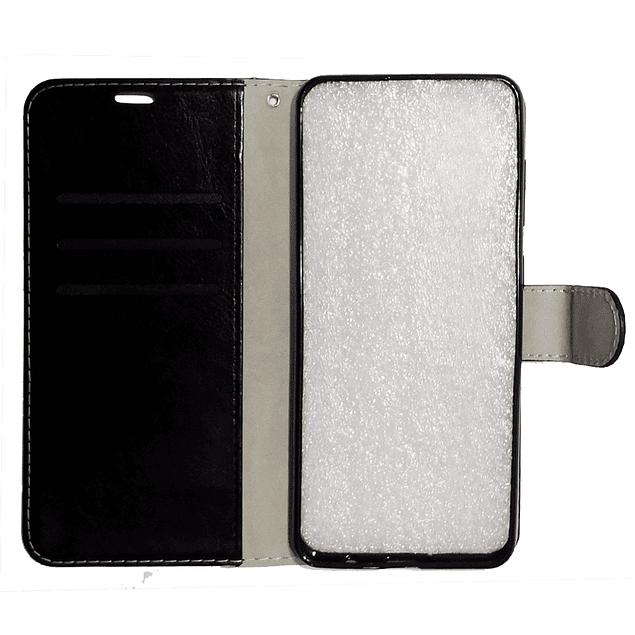 Carcasa Flipcover Negro Premium Samsung Galaxy A11