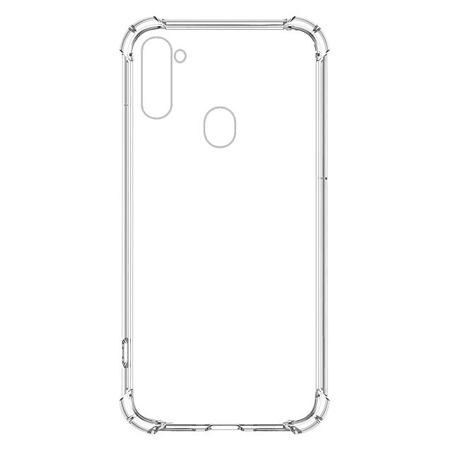 Carcasa Transparente Reforzada TPU Samsung Galaxy A11