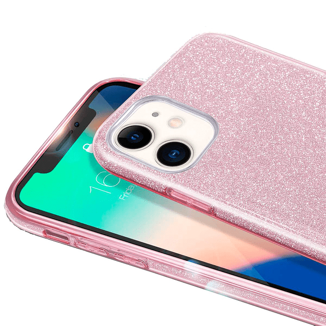 Carcasa Brillante Degradado Fucsia Samsung Galaxy A11
