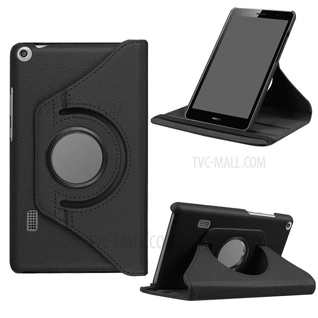 Funda Giratoria 360 Negra Huawei Mediapad T3 7