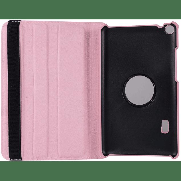 Funda Giratoria 360 Rosa Huawei Mediapad T3 7