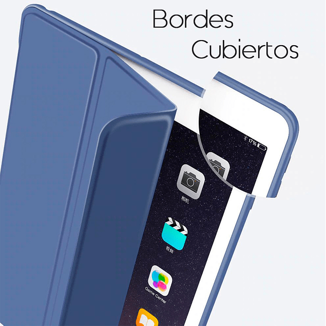 Funda Smart Cover - Book Cover Azul iPad Pro 11 2018