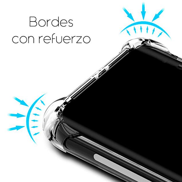 Carcasa Transparente Reforzada TPU Samsung Galaxy A01