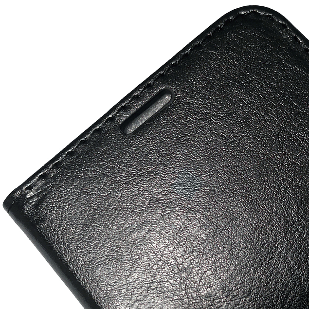 Carcasa Flipcover Premium Negro Samsung Galaxy A01