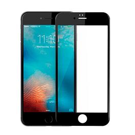 Lámina Mica Vidrio Templado Completo Full iPhone 7, 8 y SE 2020