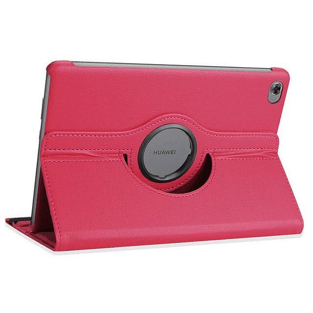 Funda Giratoria 360 Fucsia Huawei MediaPad M5 Lite 10,1