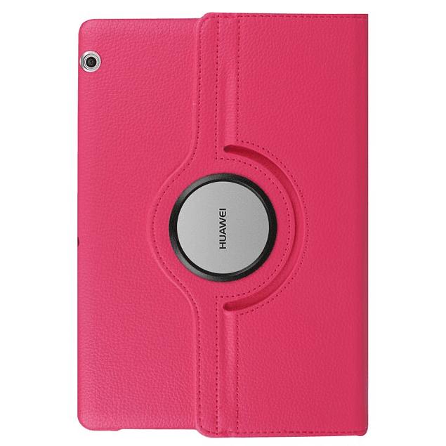 Funda Giratoria 360 Fucsia Huawei MediaPad T3 10 9.6