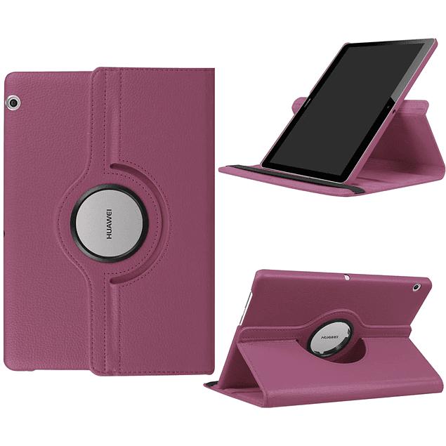 Funda Giratoria 360 Violeta Huawei MediaPad T3 10 9.6