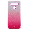 Carcasa Brillante Glitter Fucsia Degradado LG K41s K51s