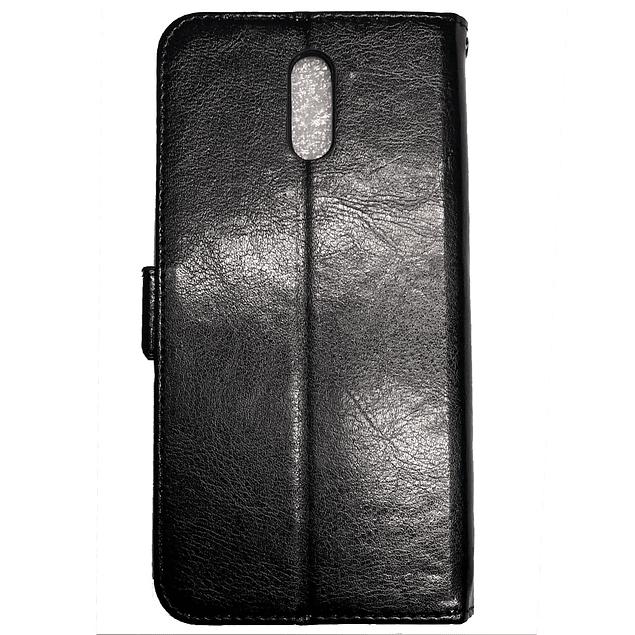 Carcasa Flipcover Negro Premium Nokia 2.3
