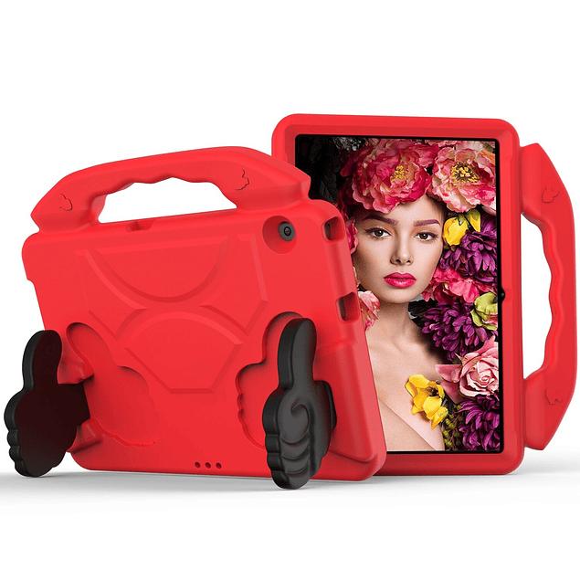 Funda Carcasa Niños Anti Golpes Rojo Huawei MediaPad T5 10.1