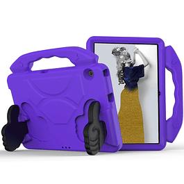 Funda Carcasa Niños Anti Golpes Morado Huawei MediaPad T5 10.1
