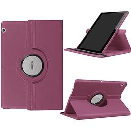 Funda Giratoria 360 Morado Huawei Mediapad T5 10.1