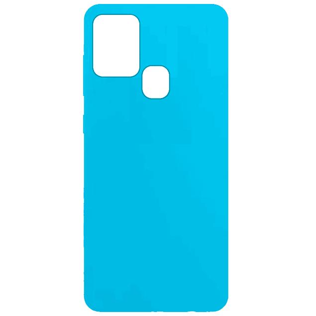 Carcasa Tipo Original Celeste Samsung Galaxy A21s