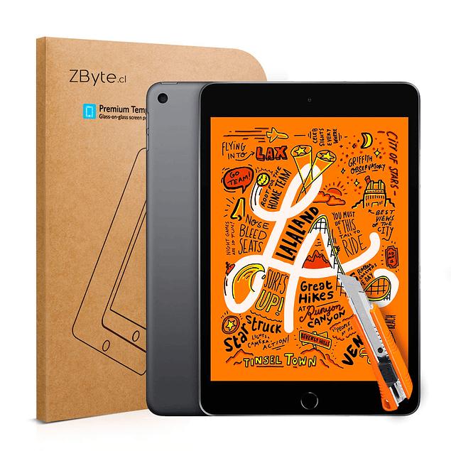 Lámina Mica Vidrio Templado iPad Mini 4ta y 5ta Generación