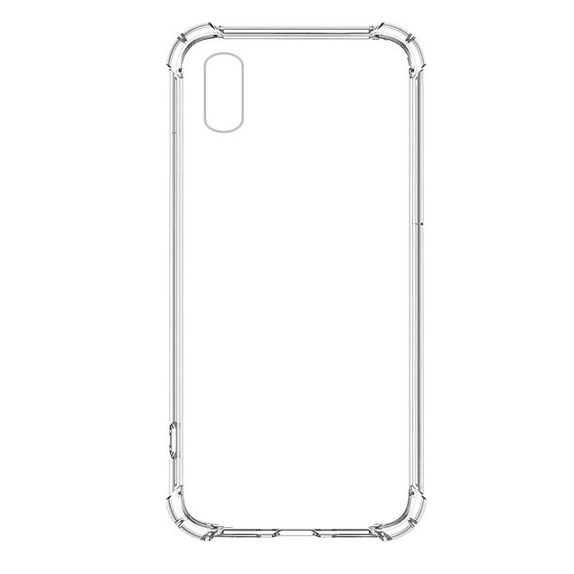 Carcasa Transparente Reforzada TPU Samsung Galaxy A01 Core