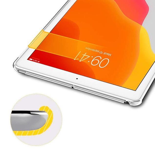 Carcasa Protector Transparente iPad 10.2 7ma y 8va Generación