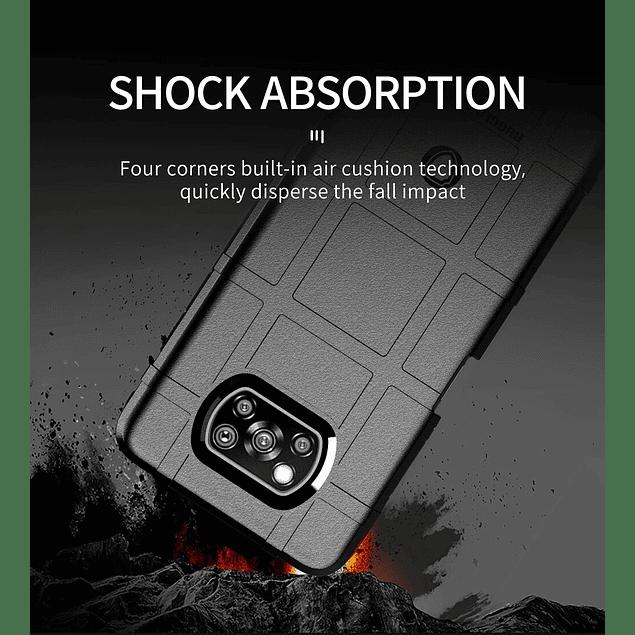 Carcasa Ultra Resistente Rugged Shield Negro Xiaomi Poco X3