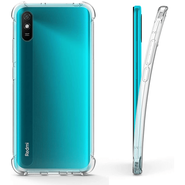 Carcasa transparente Reforzada Xiaomi Redmi 9a