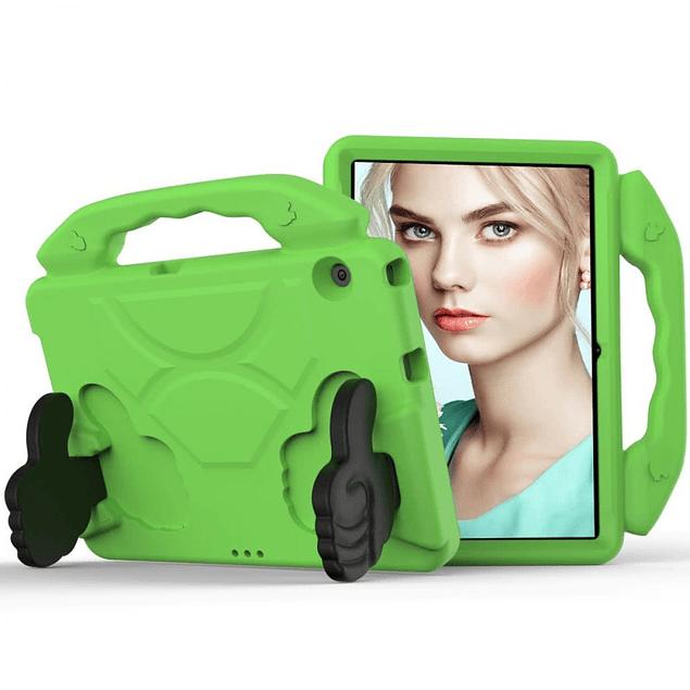 Funda Carcasa Niños Anti Golpes Verde Huawei MediaPad T5 10.1