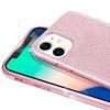 Carcasa Brillante Glitter Fucsia Degradado Huawei Y7 2019