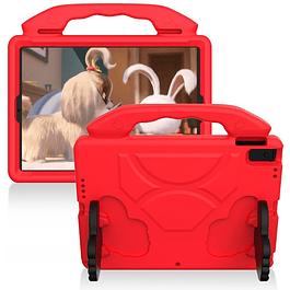 Funda Carcasa Niños Anti Golpes Rojo iPad 10.2