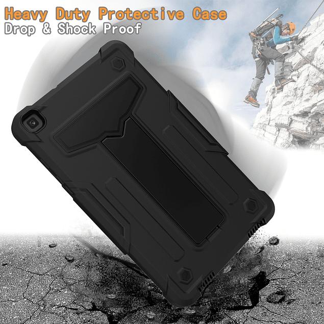 Carcasa Antigolpes Armor 360 Soporte T Negro Galaxy Tab A 8