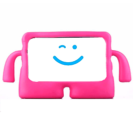 Carcsa Funda Antigolpes Niños Fucsia Galaxy Tab A 8